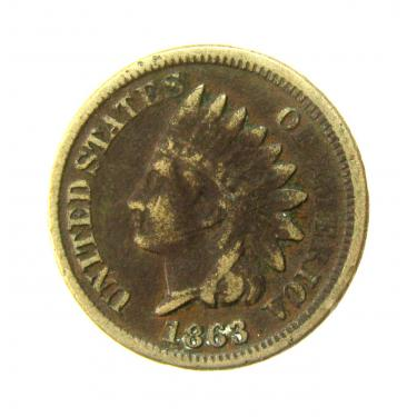 1863 Small Cents