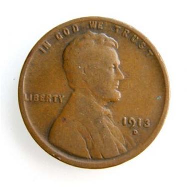 1913-D Small Cen