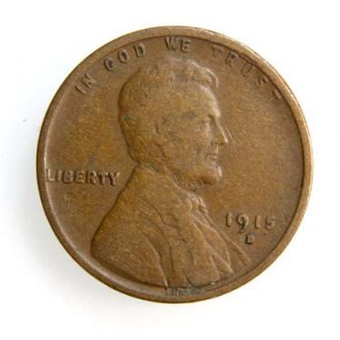1915-D Small Cen