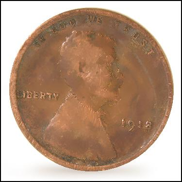 1918 Small Cents