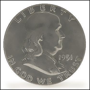 1951 Half Dollar