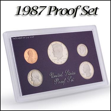 1987 Proof Set
