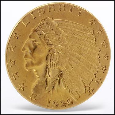 ***1929 GOLD***