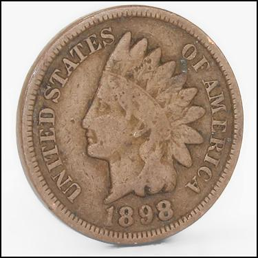 1898 Small Cents