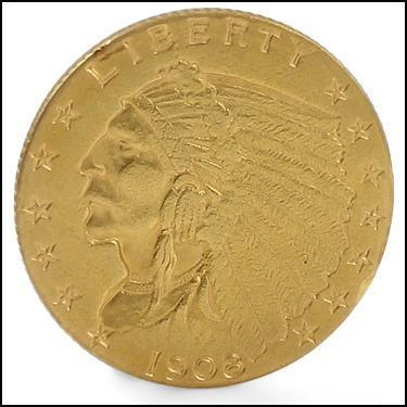 ***1908 GOLD***