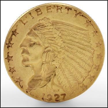 ***1927 GOLD***