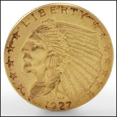 ***1927 GOLD***