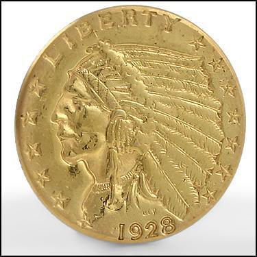 ***1928 GOLD***
