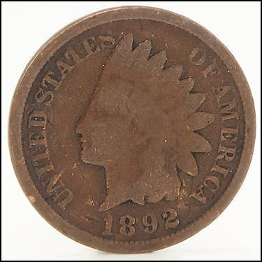 1892 Small Cents