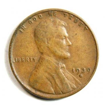 1939-S Small Cen