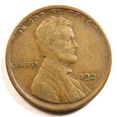 1921-S Small Cen