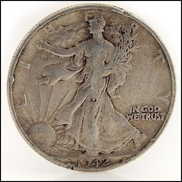 1942 Half Dollar