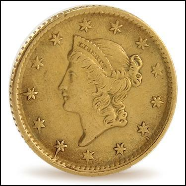 ***1854 GOLD****