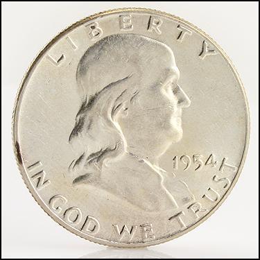 1954 Half Dollar