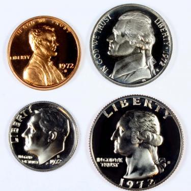 1972 PR 4 Coin