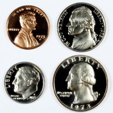 1973 PR 4 Coin