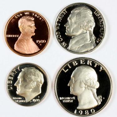 1980 PR 4 Coin