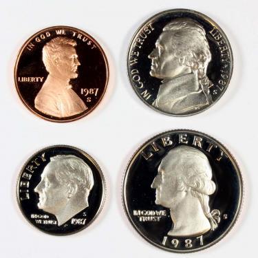 1987 PR 4 Coin