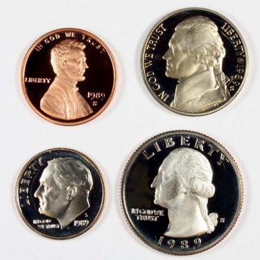 1989S PR 4 Coin