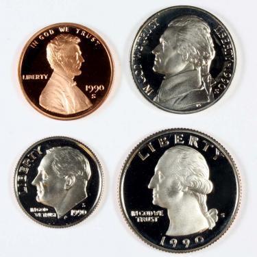 1990S PR 4 Coin