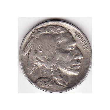 1934 Nickel