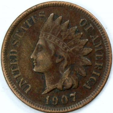 1907 Small Cents