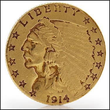 ***1914-D GOLD**